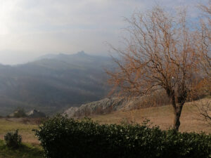 Nebbia su Rossena
