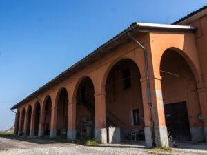 Edificio rurale a Novellara