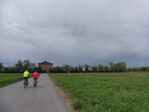 Viale verso Rivaltella