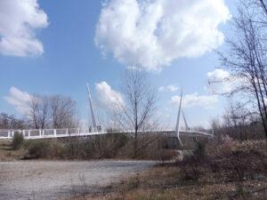 Ponte ciclopedonale sul Secchia