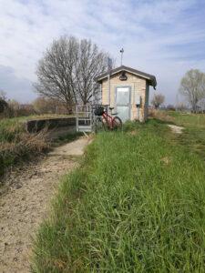 Gavasseto, manufatto sul canale di Secchia