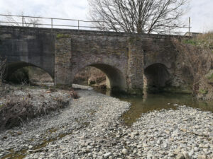 Gavasseto, ponte canale del Rodano
