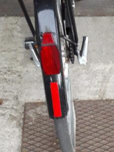 bicicletta sempre visibile di notte